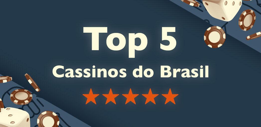 Cassinos no Brasil - capa