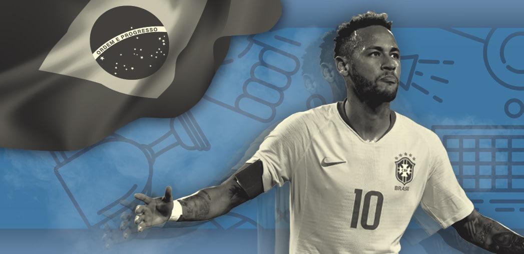 Neymar é a estrela desta Copa América.