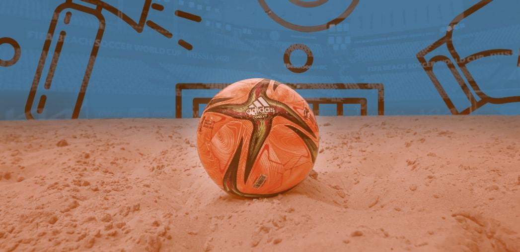 O Mundial de Futebol de Areia é a maior competição deste esporte.